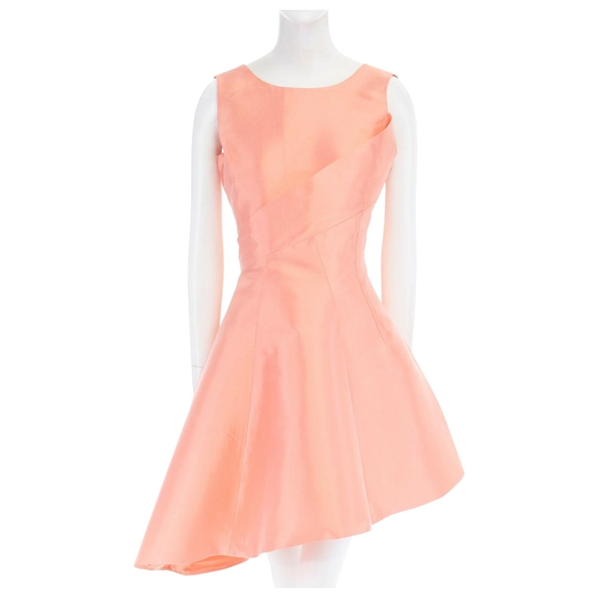Dior \N Orange Silk dress for Women 38 FR