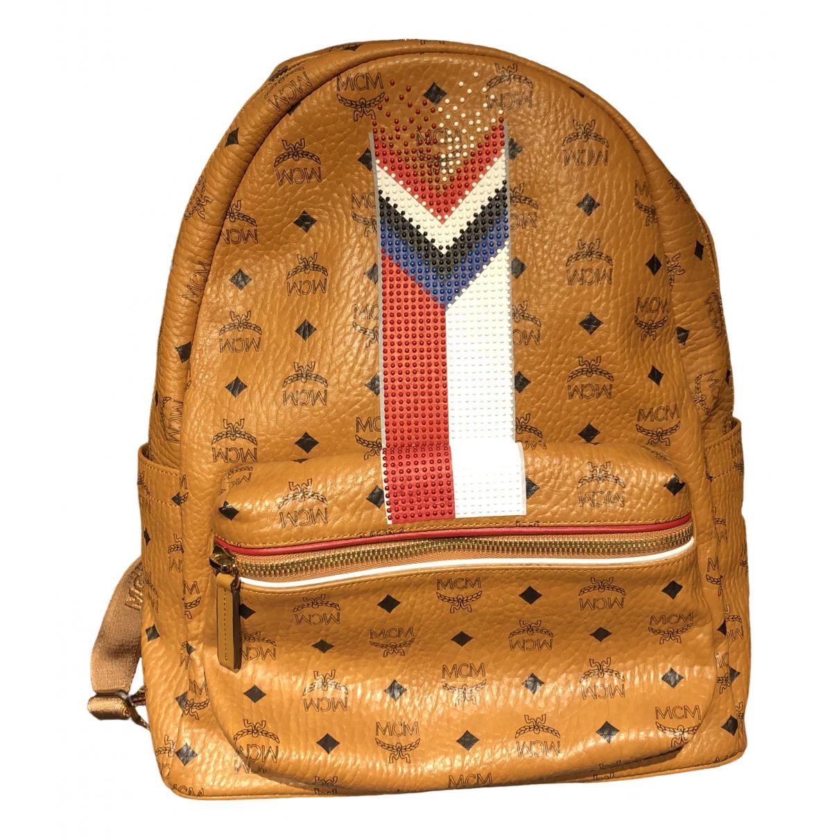 Mcm \N Brown Leather bag for Men \N
