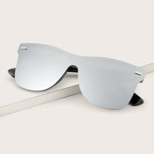 Gafas de sol de hombres de montura plana