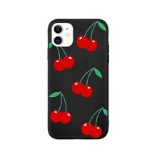 1 Stueck iPhone Etui mit Kirschen Muster