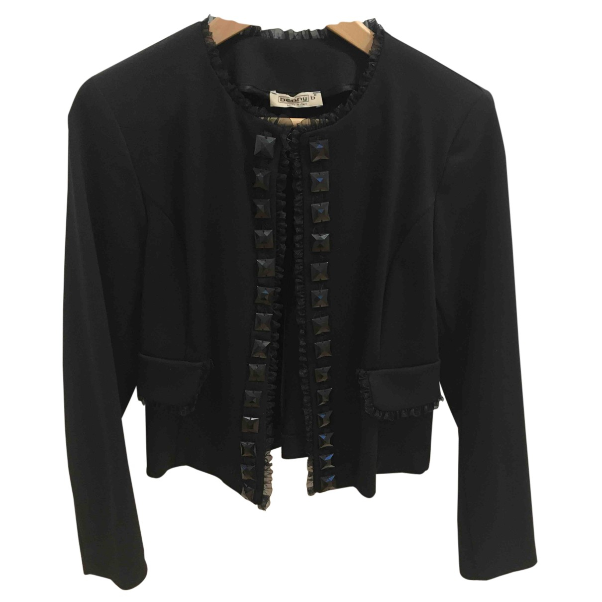 Autre Marque - Veste   pour femme en coton - noir