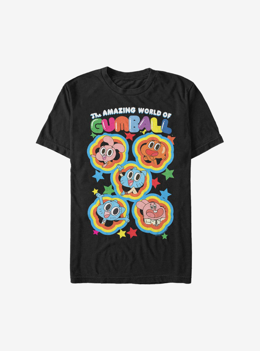 The Amazing World Of Gumball Five Stars T-Shirt
