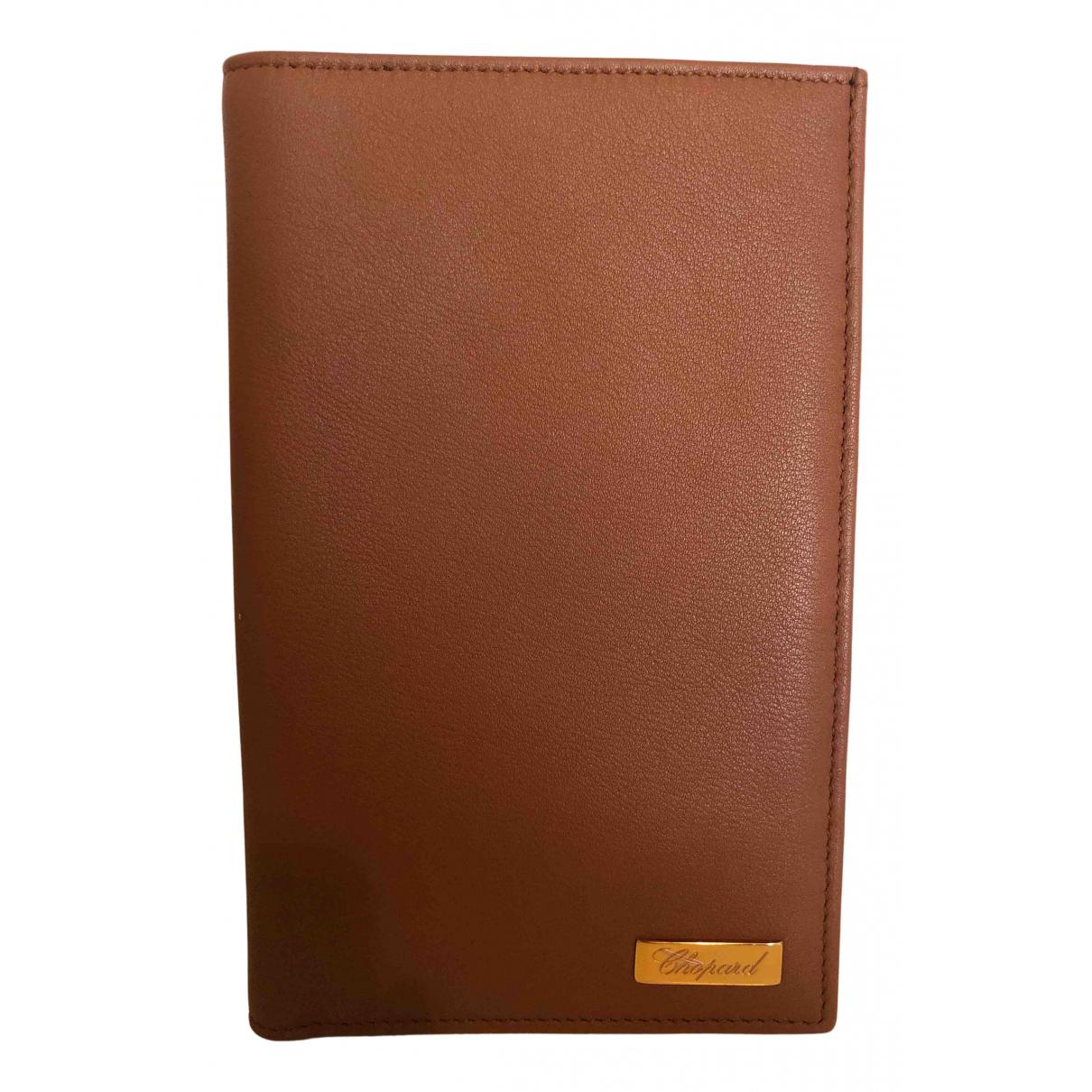 Chopard \N Portemonnaie in Leder