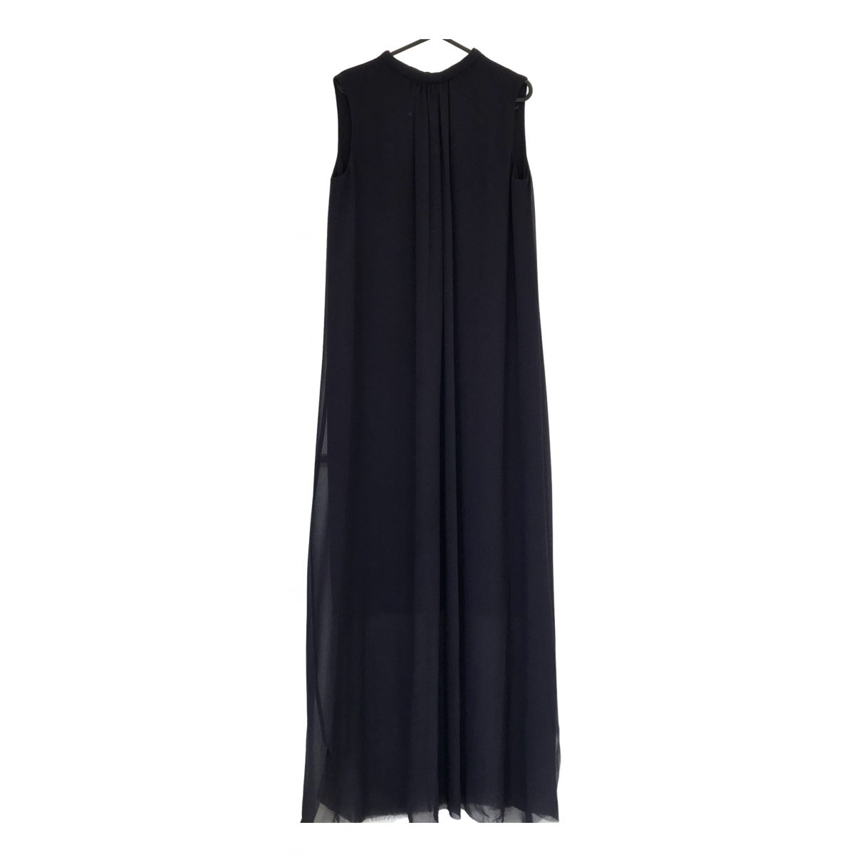 Cos - Robe   pour femme en coton - marine