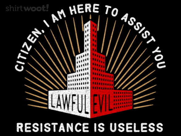 Lawful Evil T Shirt