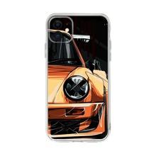 Funda de iphone con estampado de coche