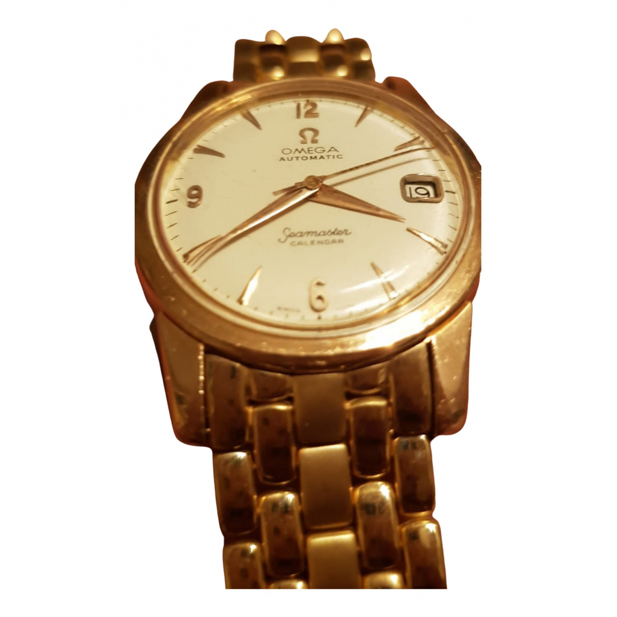 Omega Seamaster Gold Yellow gold watch for Men \N