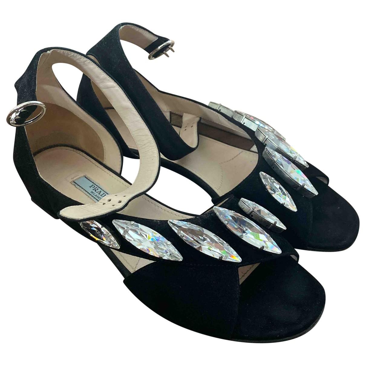 Sandalias romanas Prada