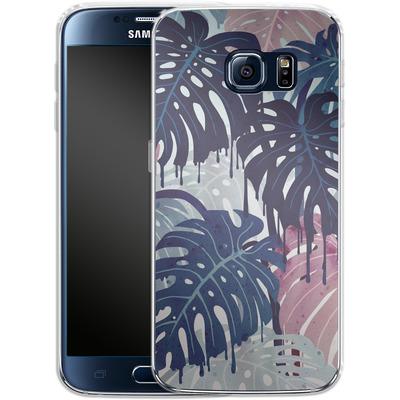 Samsung Galaxy S6 Silikon Handyhuelle - Monsteramelt von Little Clyde