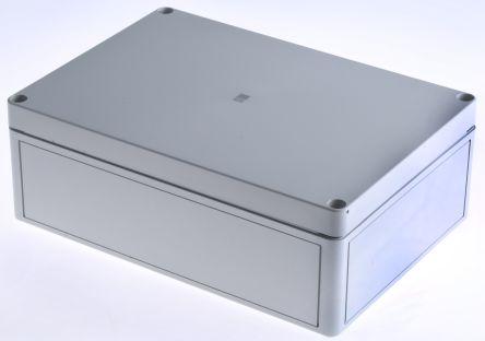 Rittal PK, Grey Polycarbonate Enclosure, IP66, Flanged, 254 x 180 x 90mm