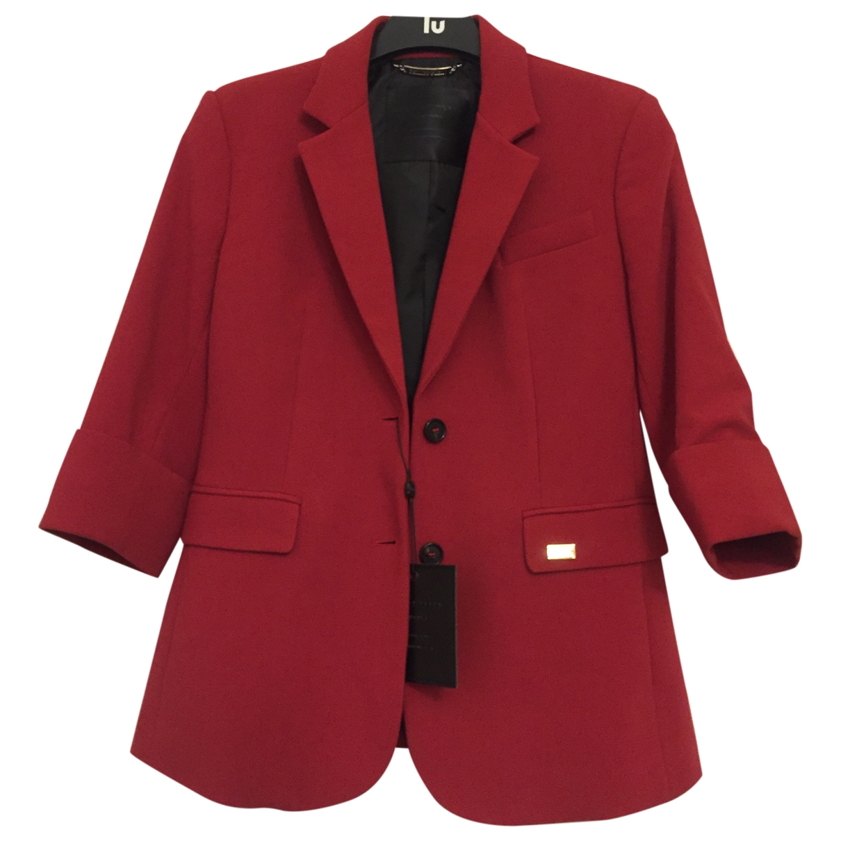 Philipp Plein \N Red Wool jacket for Women 36 FR