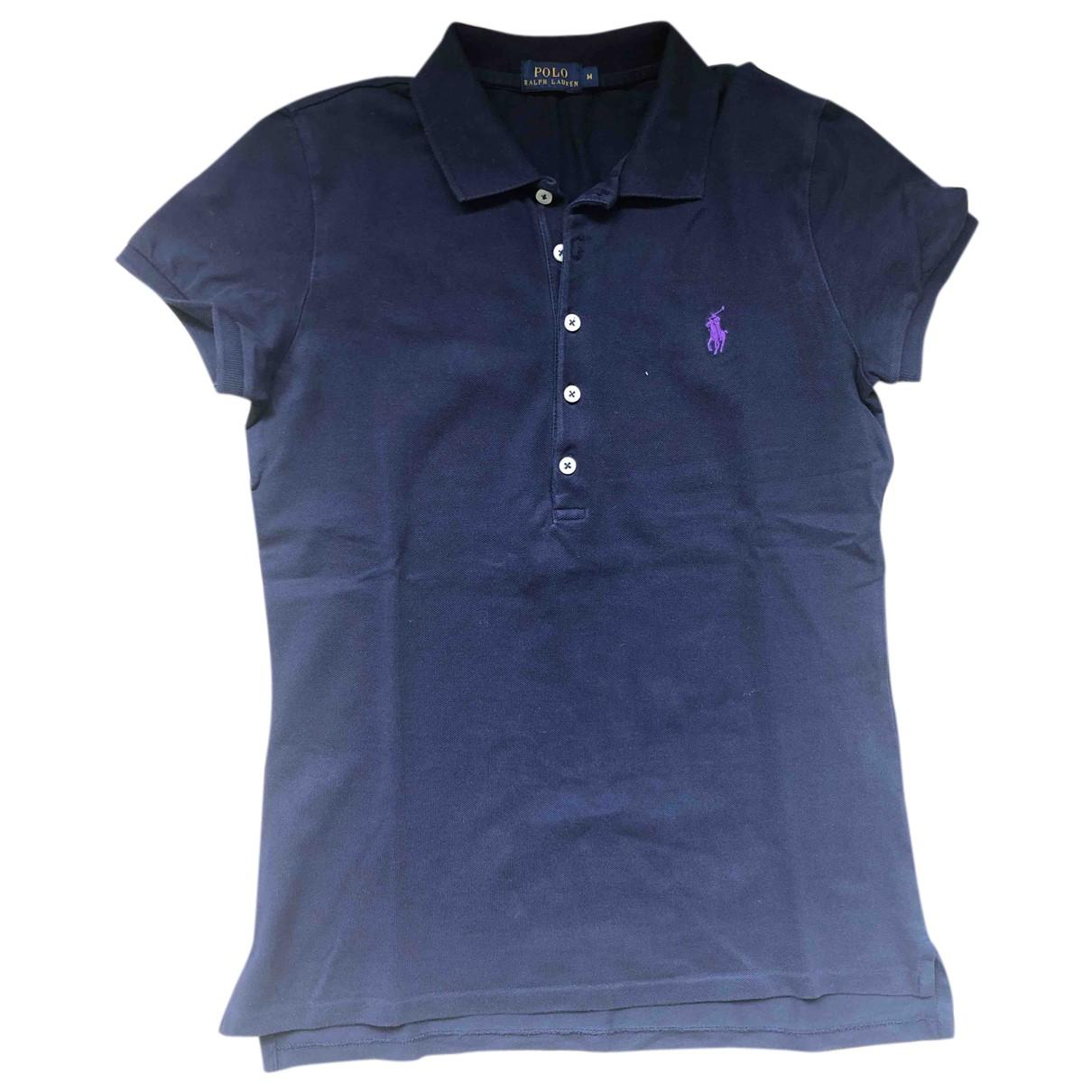 Polo Ralph Lauren N Blue Cotton  top for Women M International