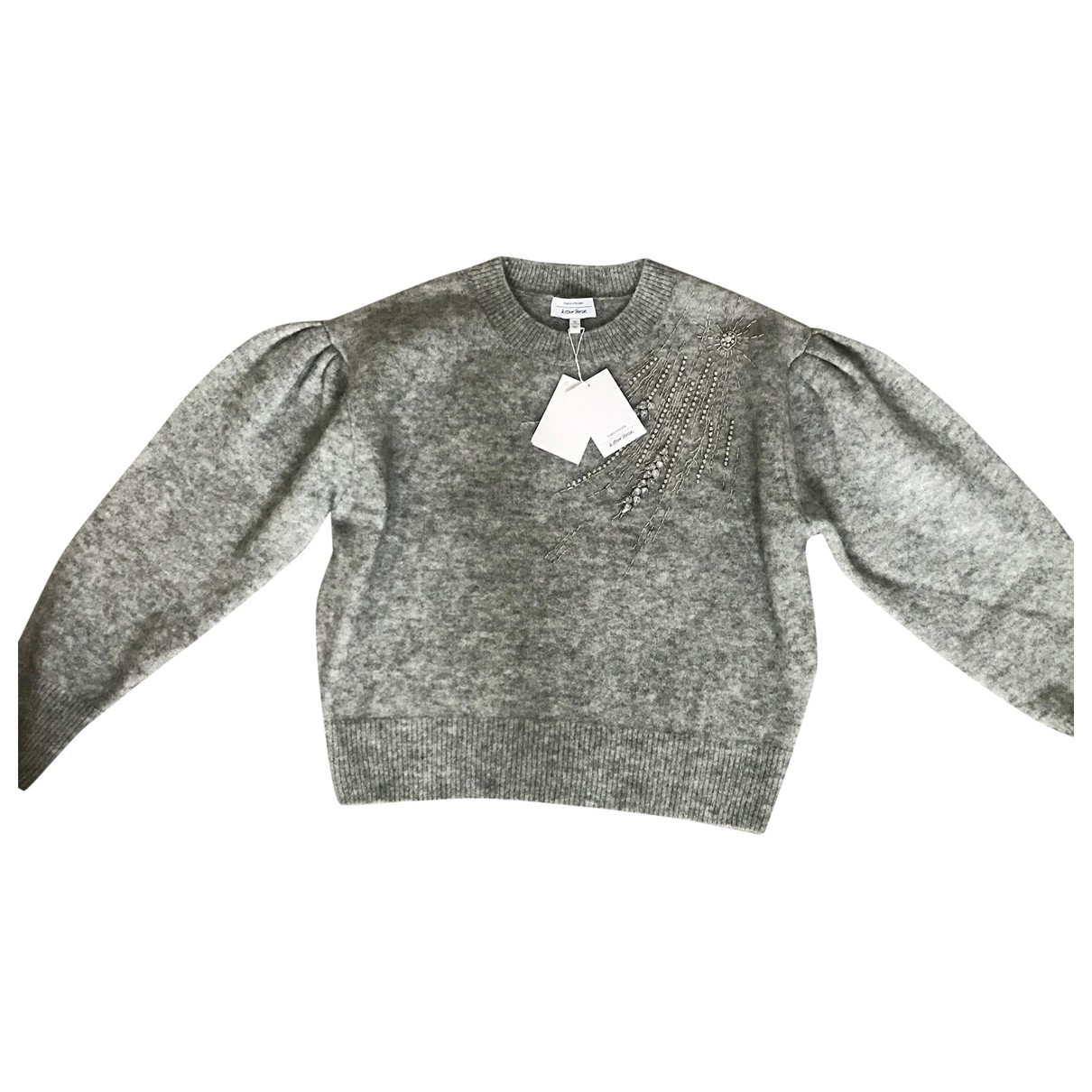 & Other Stories \N Pullover in  Grau Wolle
