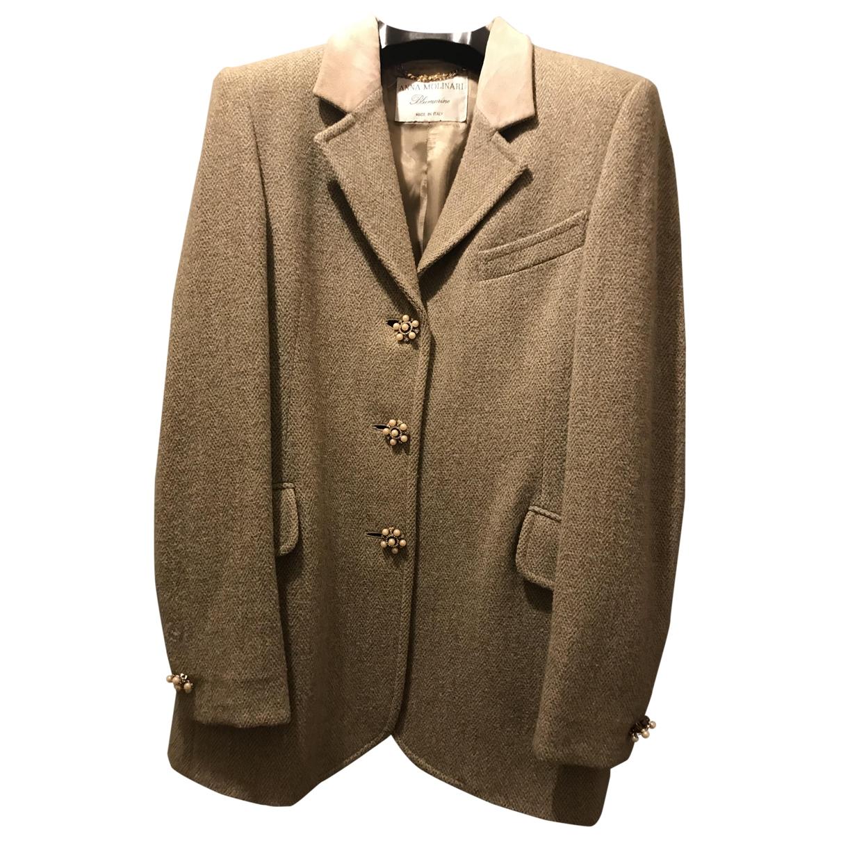 Blumarine \N Green Wool jacket for Women 44 IT
