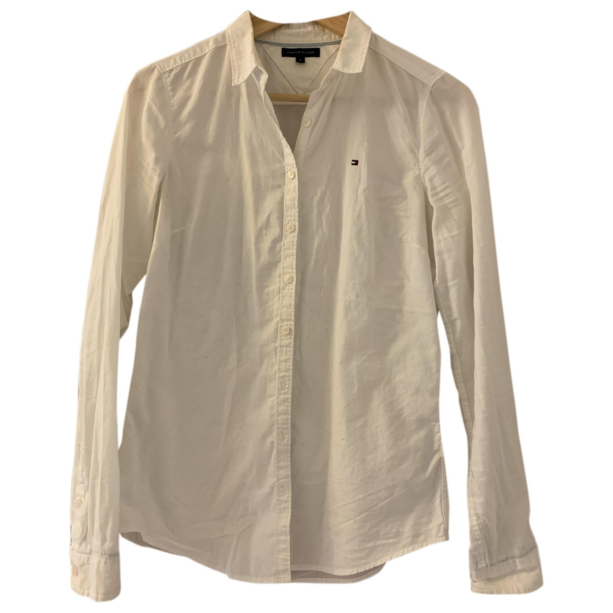 Tommy Hilfiger N White Cotton  top for Women S International