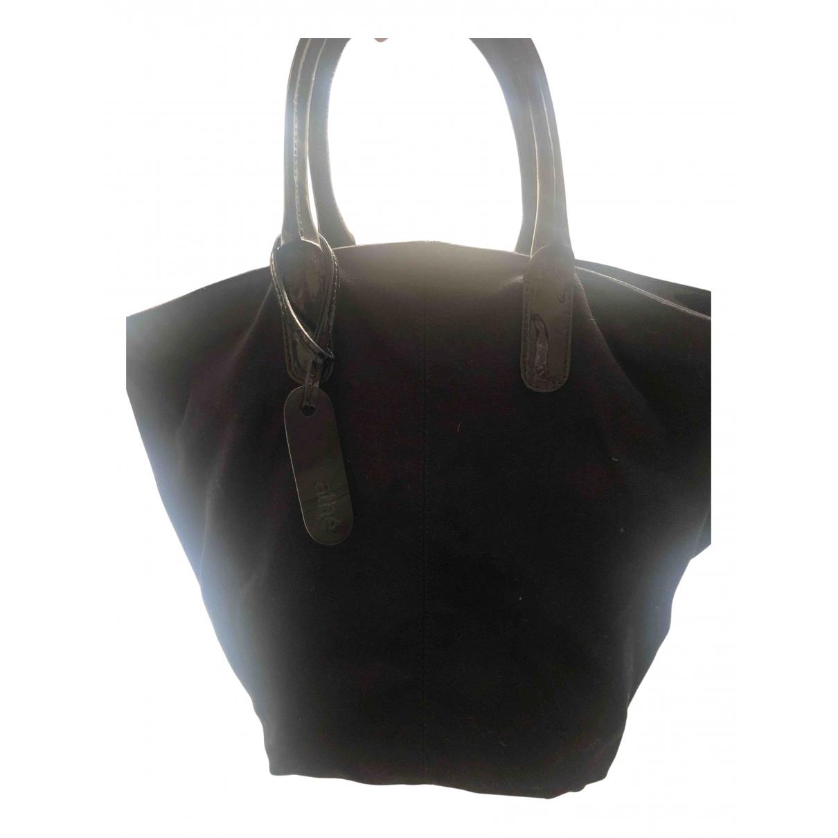 Vanessa Bruno Athe N Black Cotton handbag for Women N
