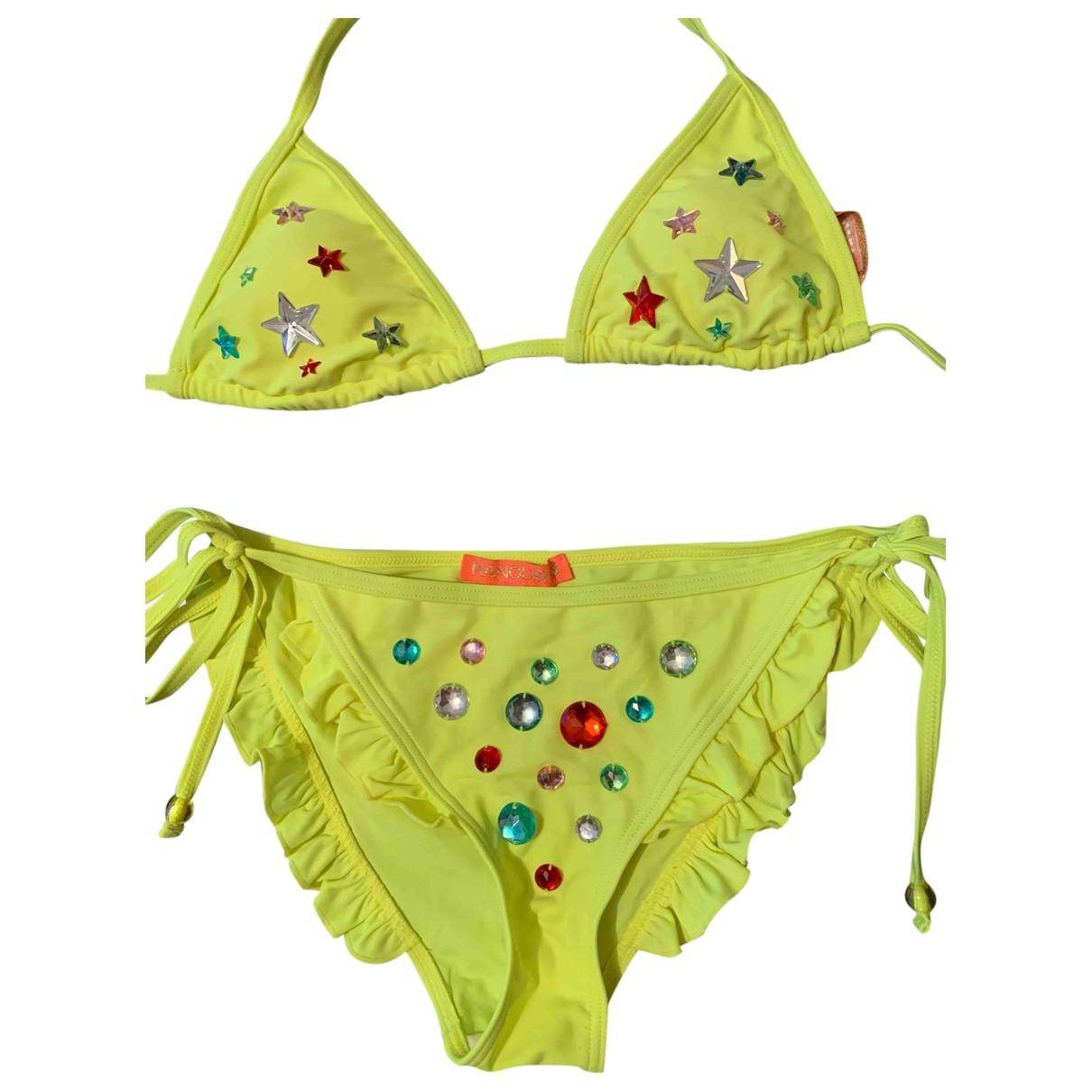 Manoush \N Yellow Lycra Swimwear for Women 36 FR