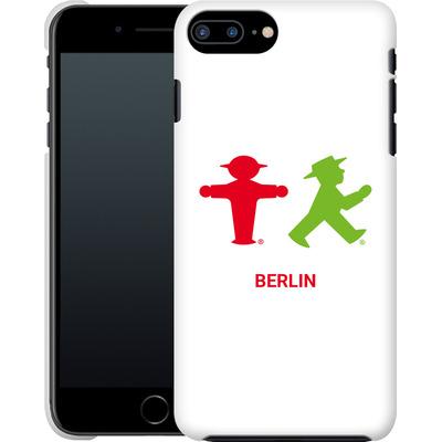 Apple iPhone 7 Plus Smartphone Huelle - Green and Red von AMPELMANN