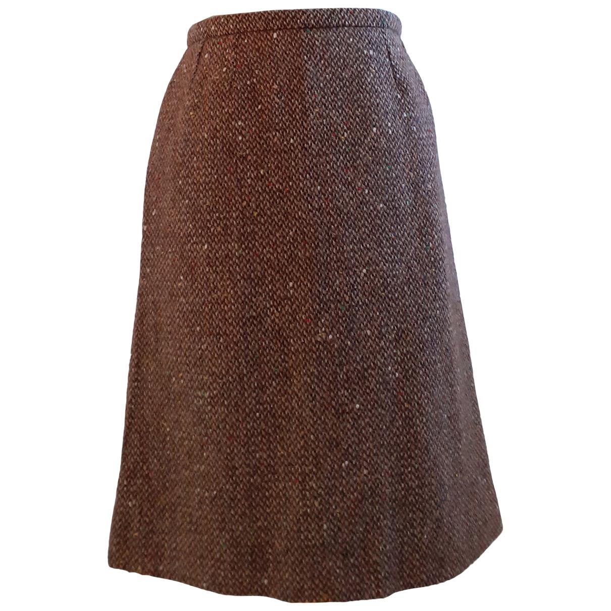 Guy Laroche \N Rocke in  Braun Wolle
