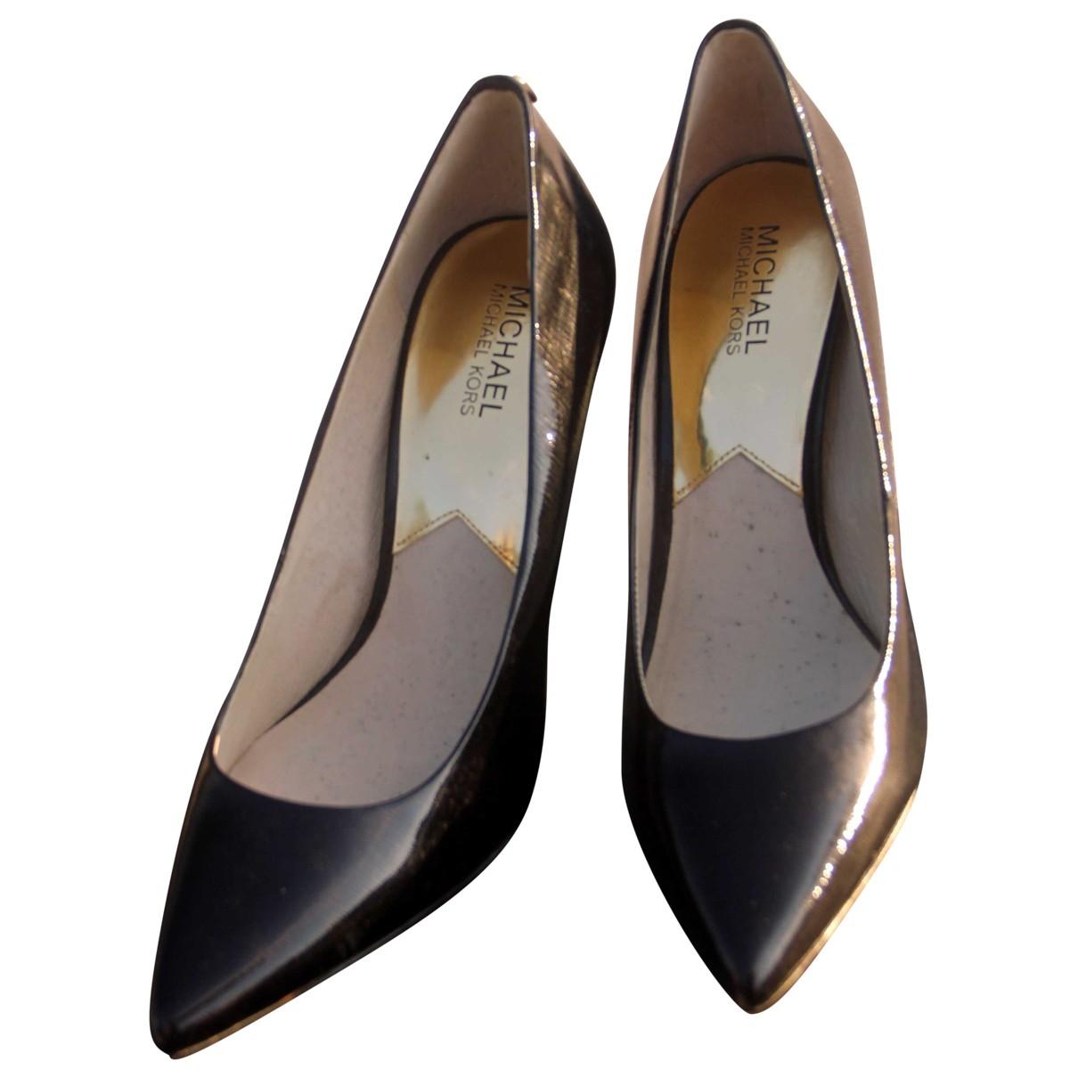 Michael Kors \N Black Leather Heels for Women 10.5 US