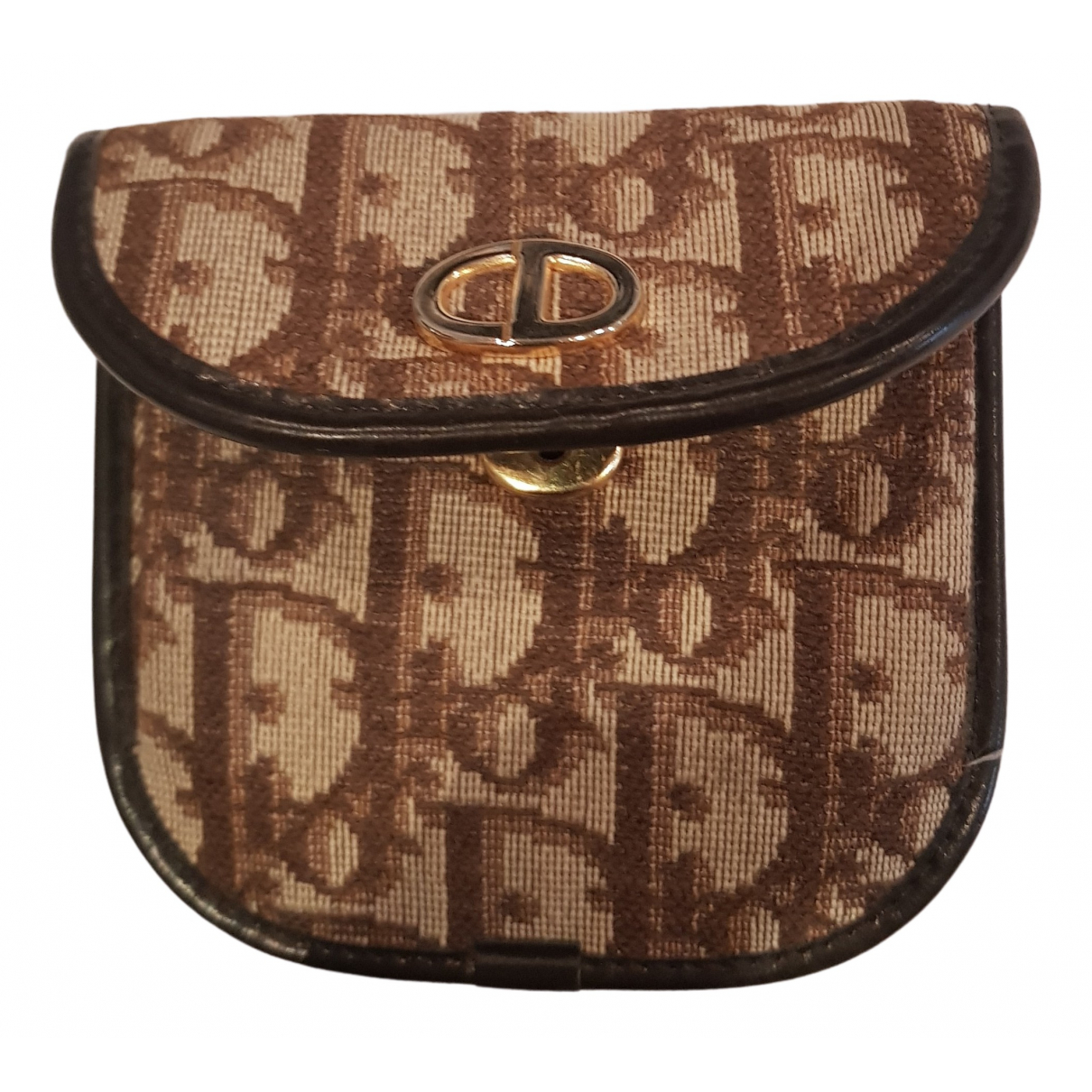 Dior N Brown Cotton Purses, wallet & cases for Women N