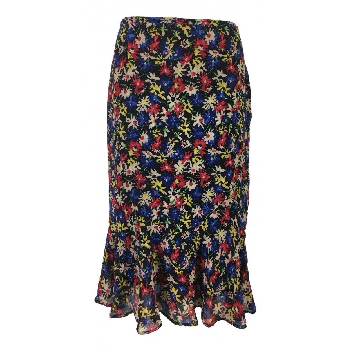 Max Mara - Jupe   pour femme en soie - multicolore