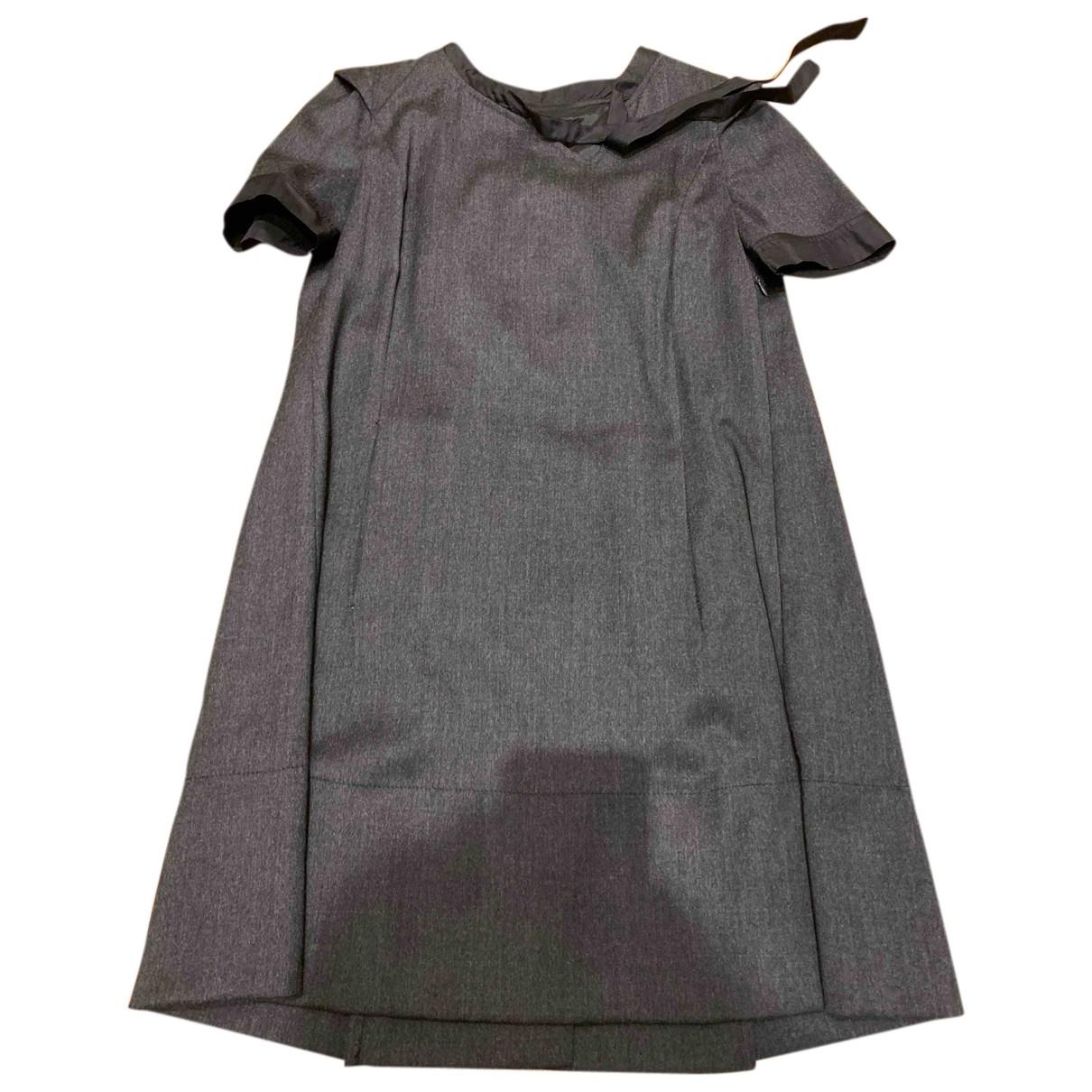 Cnc - Robe   pour femme en laine - gris