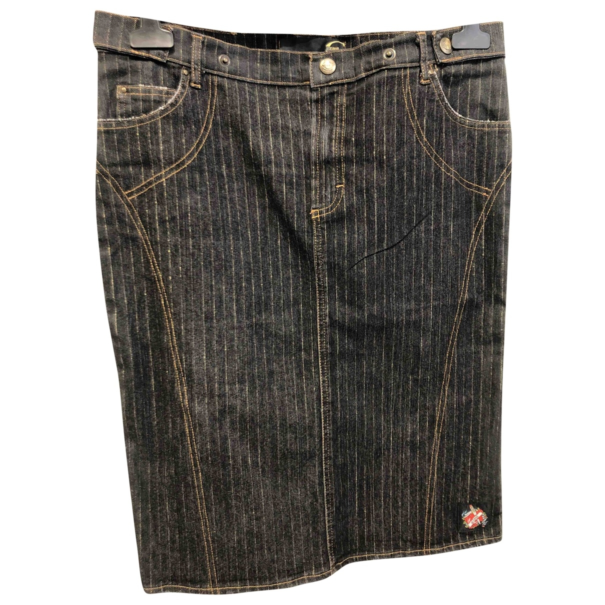 Just Cavalli \N Rocke in  Grau Denim - Jeans