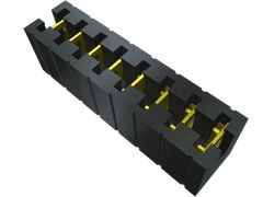 Samtec , MNT Shunt Female Straight Black Multi Position Shunt 4 Way 1 Row 2.54mm Pitch