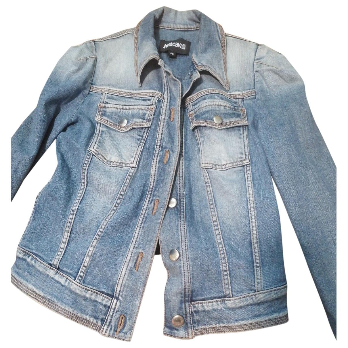 Just Cavalli - Veste   pour femme en denim - bleu