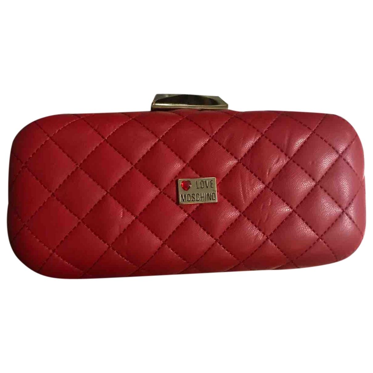 Moschino Love \N Red Clutch bag for Women \N