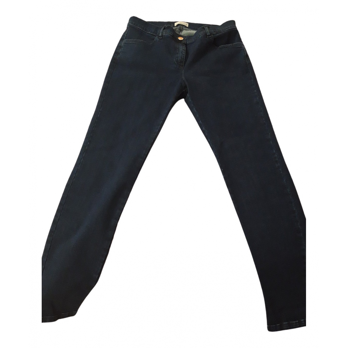 Autre Marque N Blue Cotton Jeans for Women 40 FR