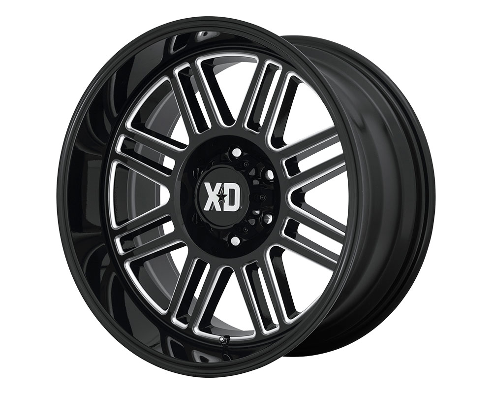 XD Series XD85029077318 XD850 Cage Wheel 20x9 6x6x120 +18mm Gloss Black Milled