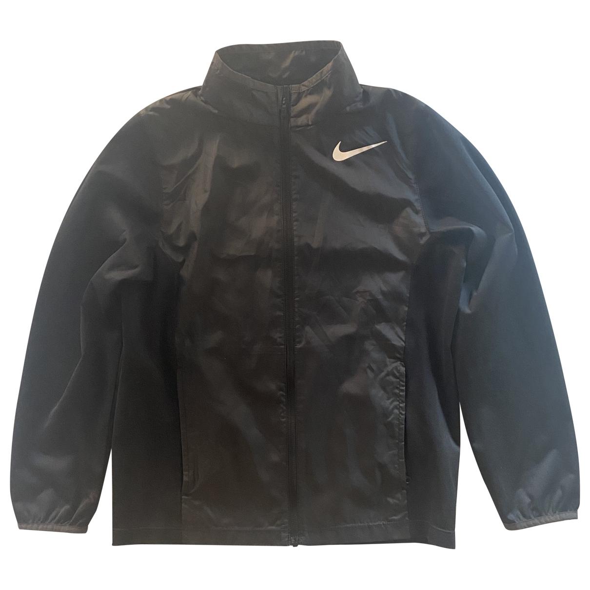 Nike - Blousons.Manteaux   pour enfant - noir