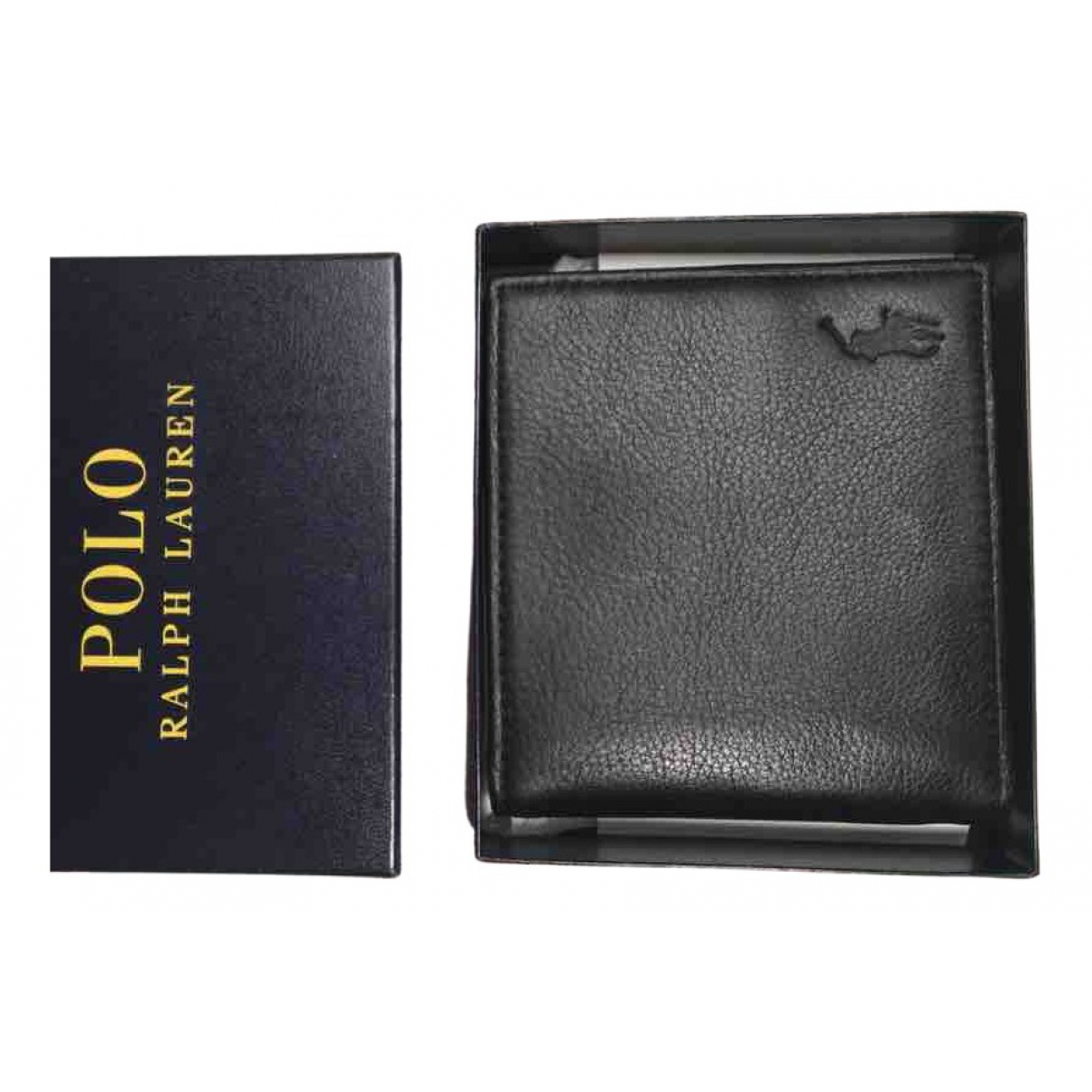 Polo Ralph Lauren N Black Leather Small bag, wallet & cases for Men N