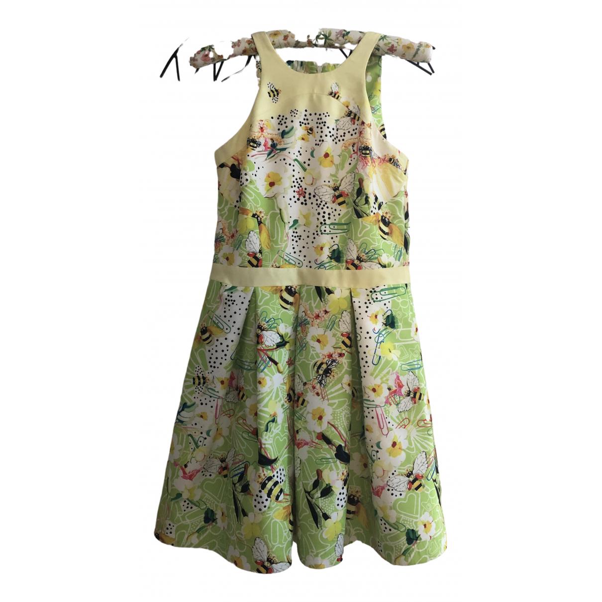 Piccione.piccione \N Yellow dress for Women 40 IT