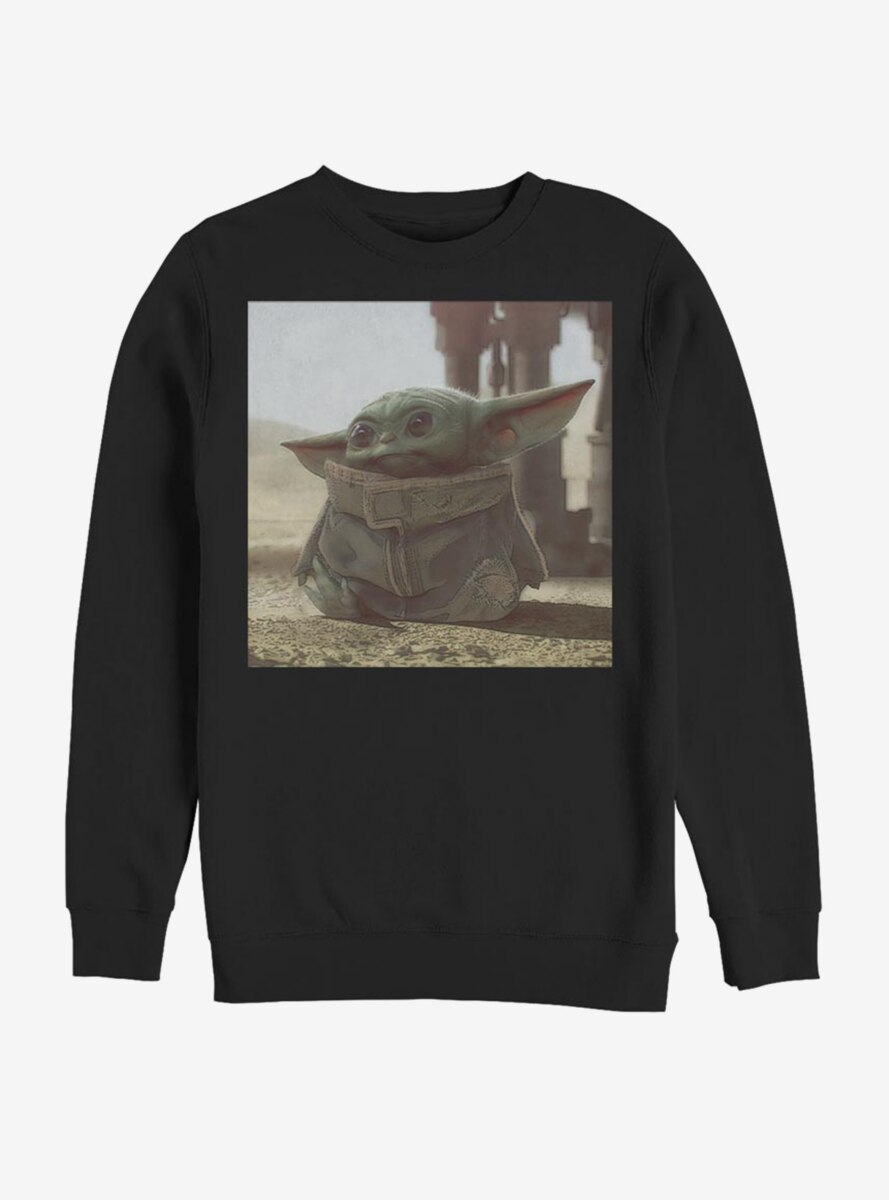 Star Wars The Mandalorian The Child Square Scene Sweatshirt