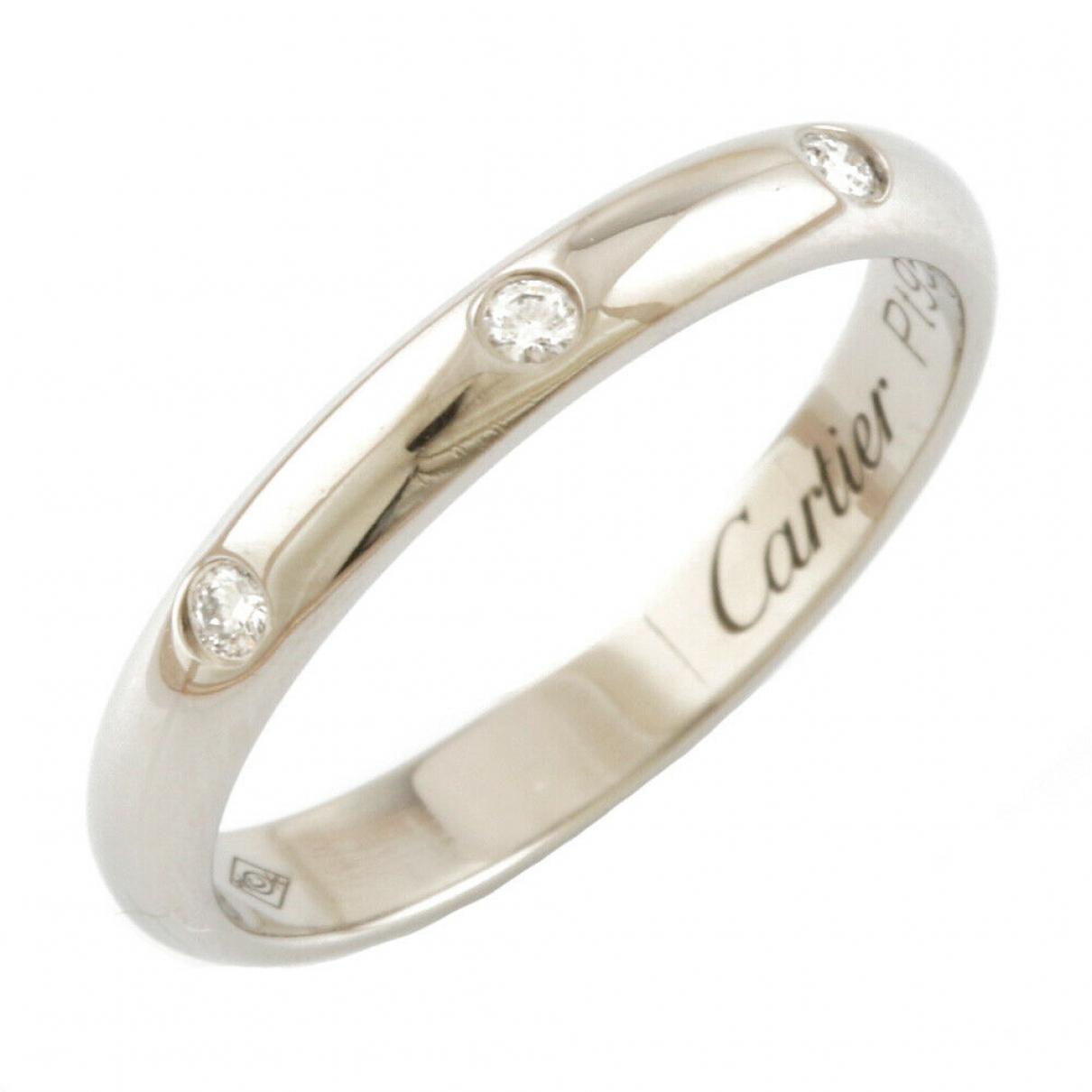 Cartier - Bague   pour femme en platine - argente