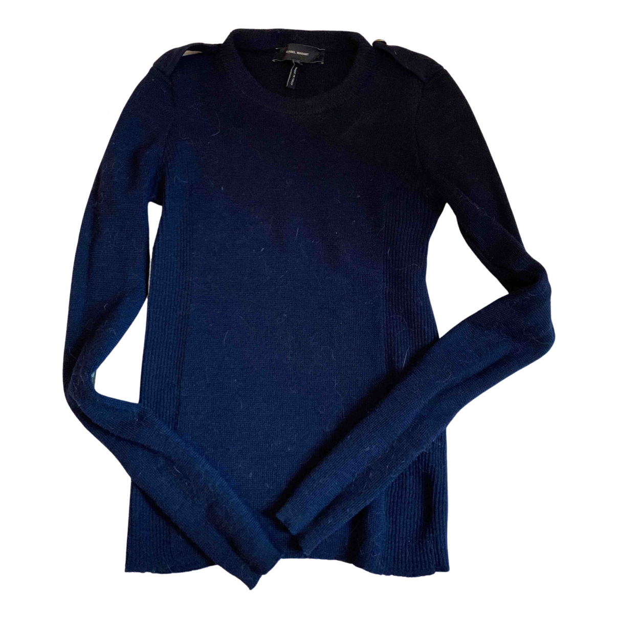 Isabel Marant \N Pullover in  Marine Wolle