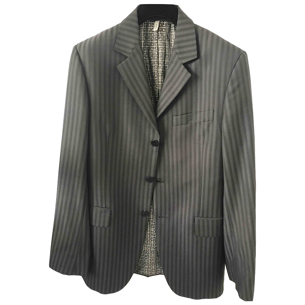 Givenchy N Grey Wool jacket  for Men 48 IT