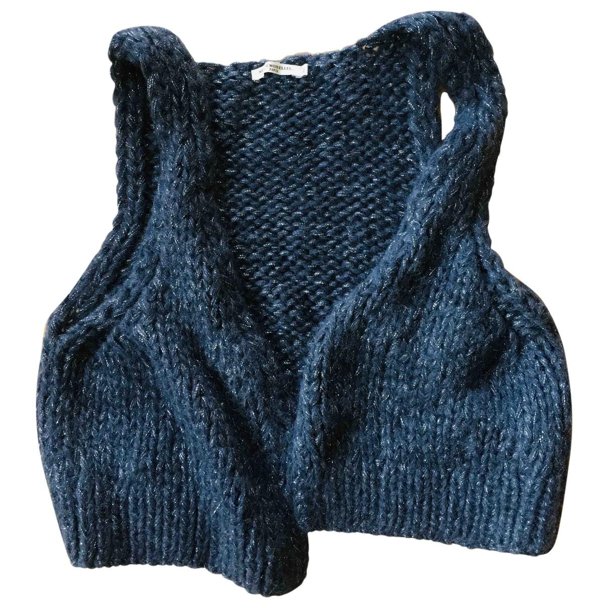 Mes Demoiselles ... - Pull   pour femme en laine - bleu