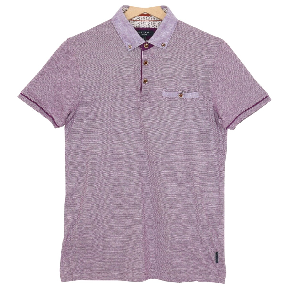 Ted Baker \N Poloshirts in  Lila Baumwolle