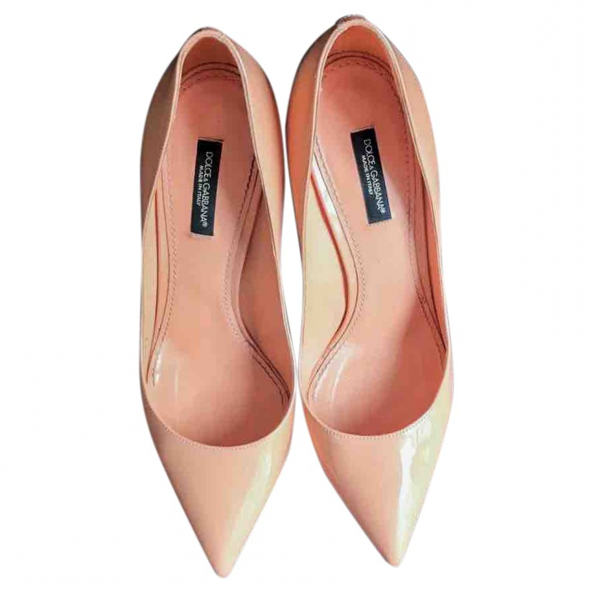 Dolce & Gabbana \N Pink Patent leather Heels for Women 37 EU