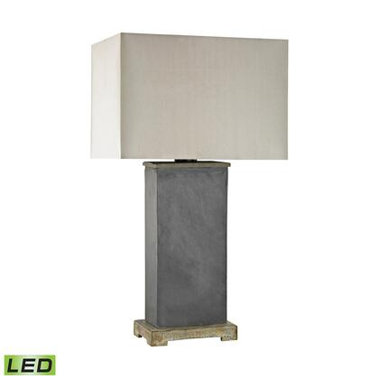 D3092-LED Elliot Bay Outdoor LED Table Lamp  In Taupe