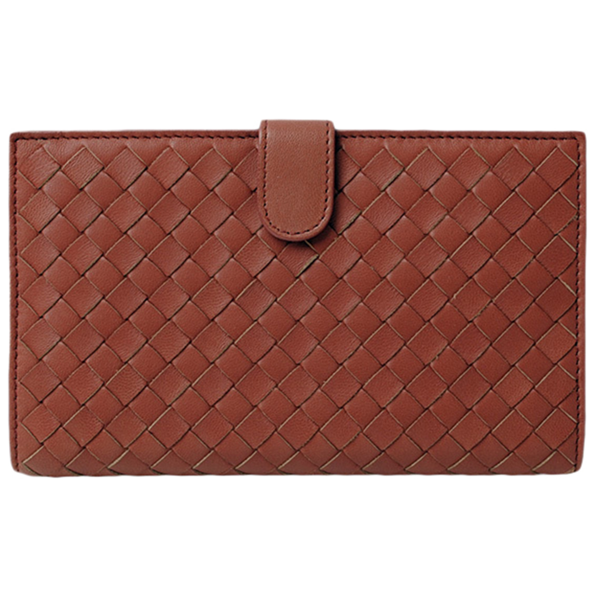 Bottega Veneta Intrecciato Brown Leather wallet for Women \N