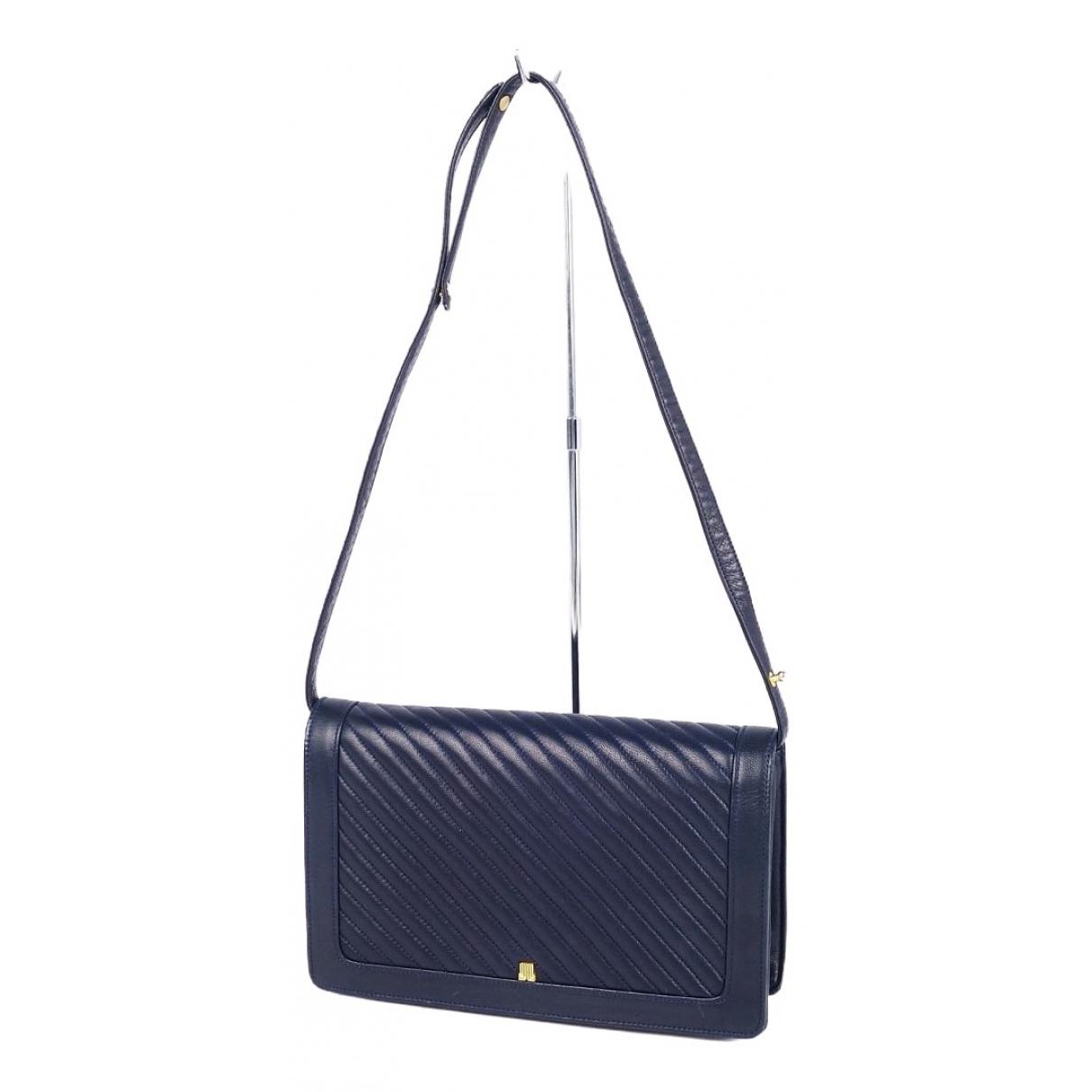 Lanvin \N Navy Leather handbag for Women \N