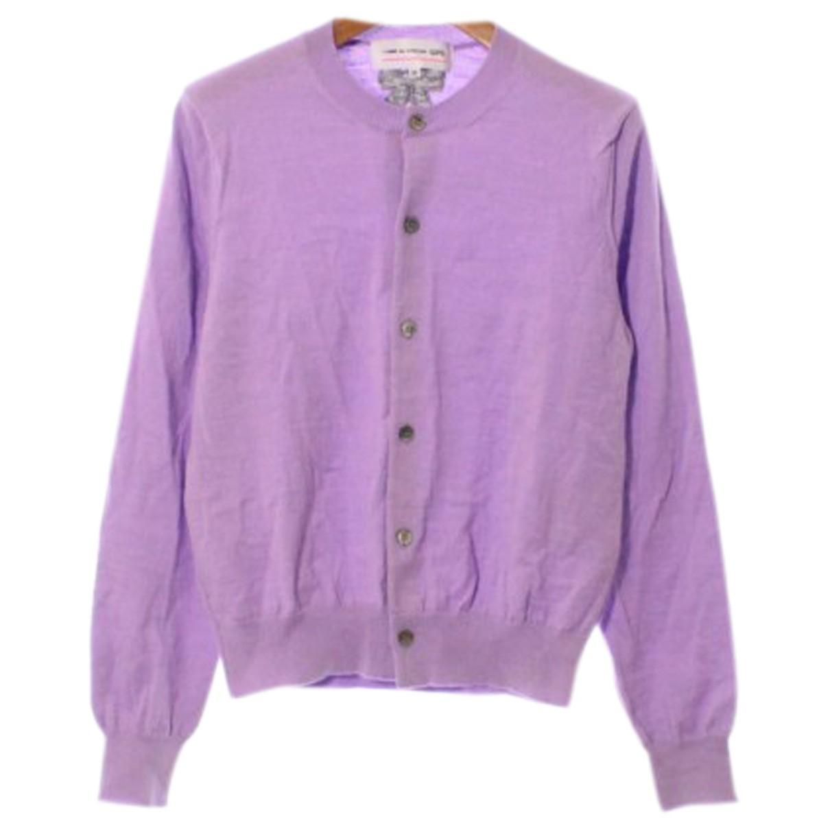 Comme Des Garcons - Pull   pour femme en laine - violet