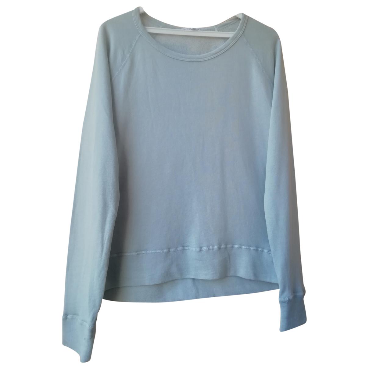 James Perse \N Pullover.Westen.Sweatshirts  in  Grau Baumwolle