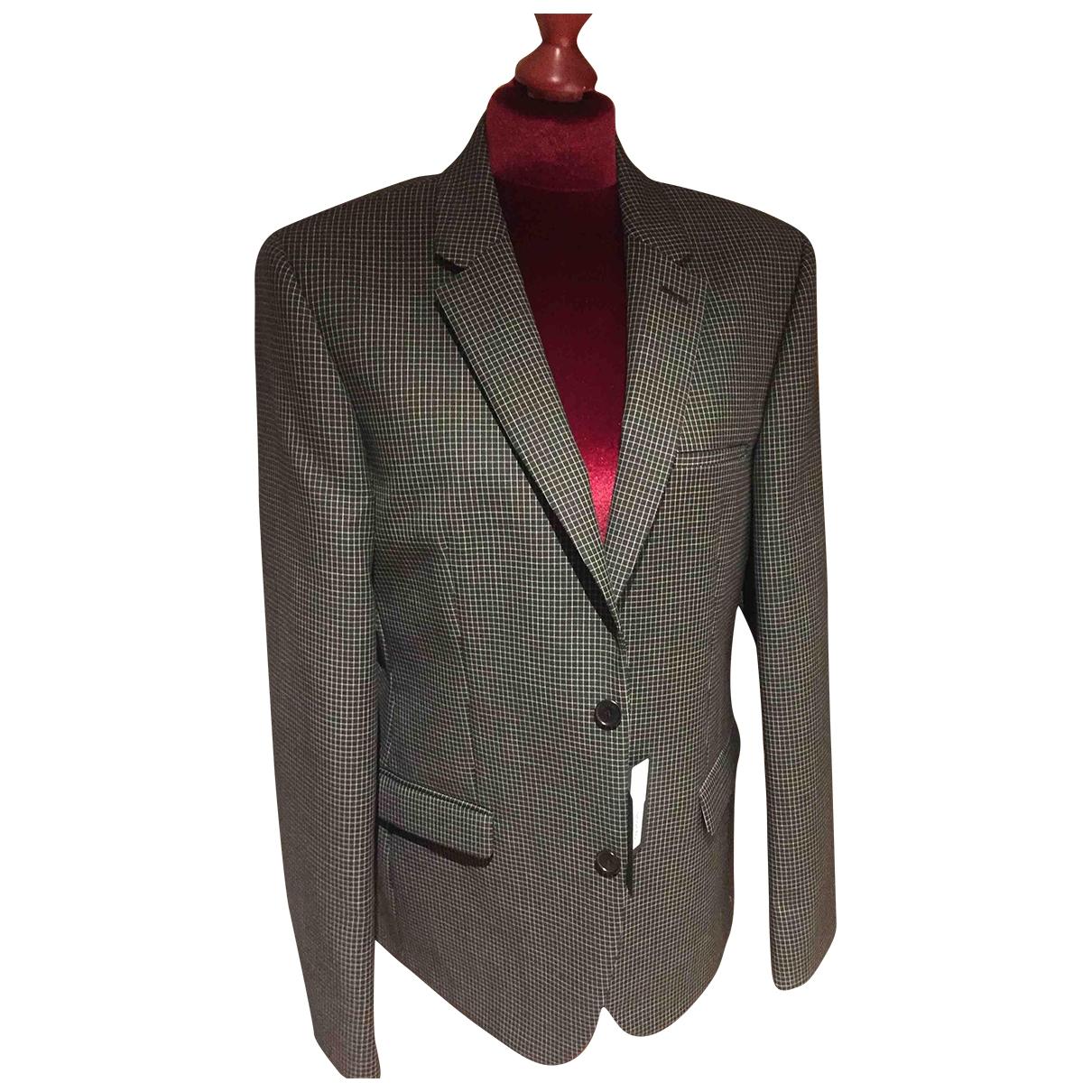 Calvin Klein Collection \N Black Cotton jacket  for Men 50 IT
