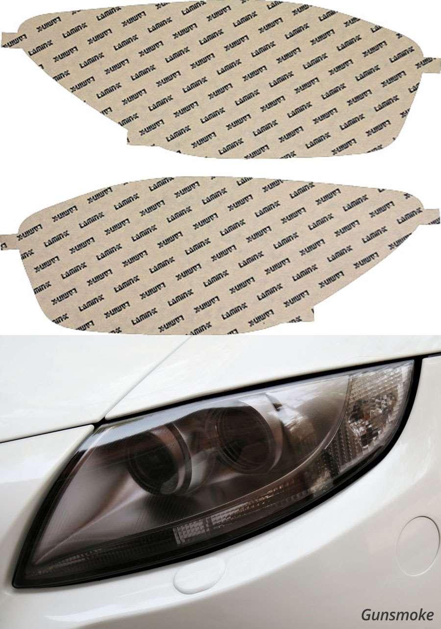 Honda Civic Sedan & Coupe 99-00 Gunsmoke Headlight Covers Lamin-X H013G